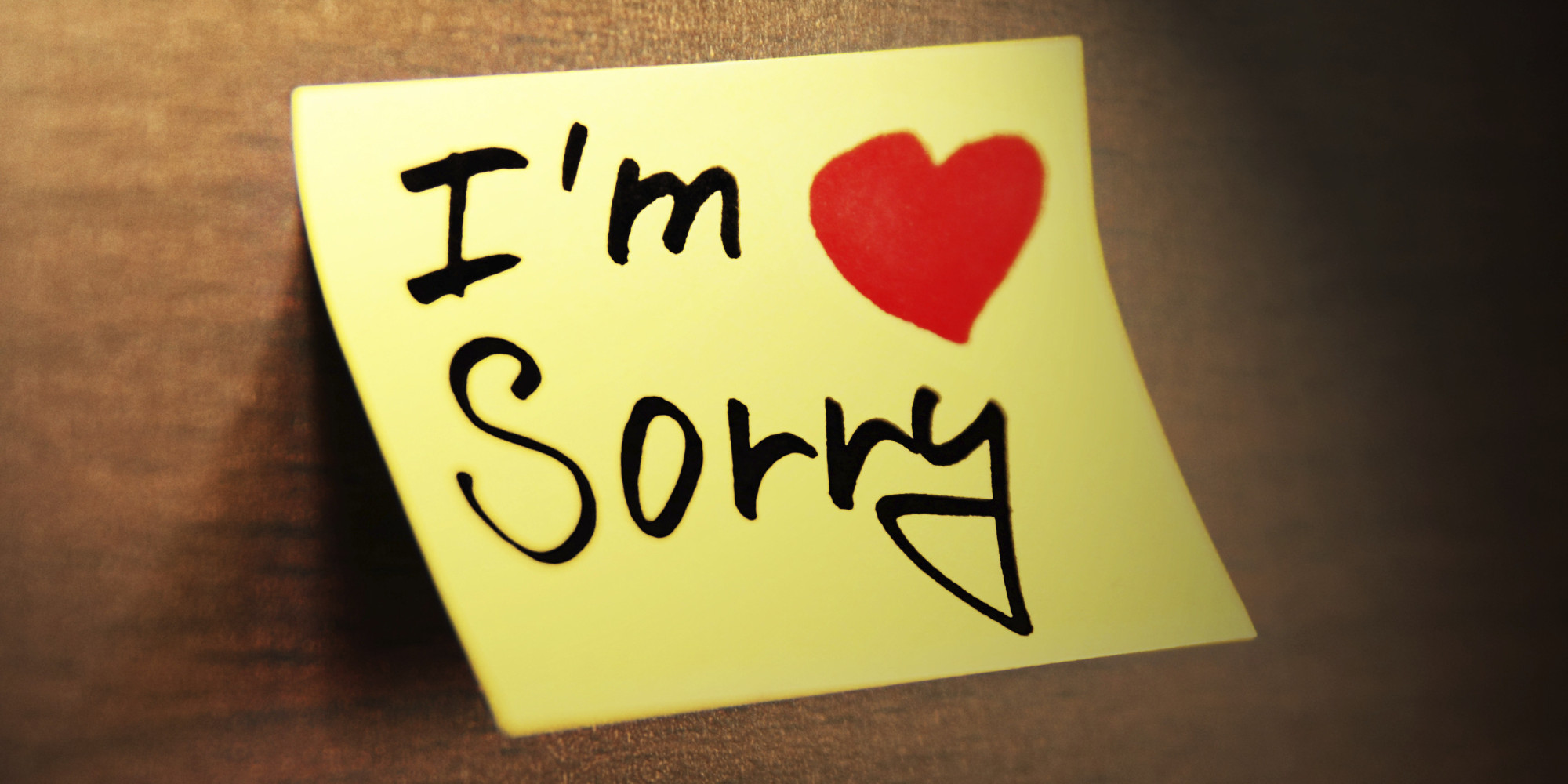 Confession and Statement of Apology